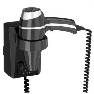 wandhaardroger clipper II S zwart 115/230V