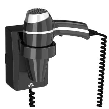 wandhaardroger clipper II zwart