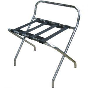 bagagerek rack métal met steun chroom