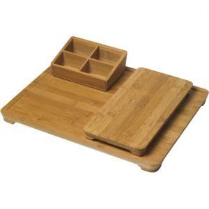 hospitality tray stylus bamboe