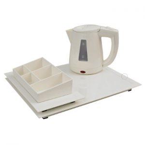 hospitality tray zen line II ivoor
