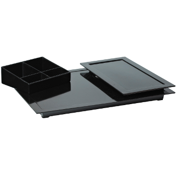 hospitality tray zen line II zwart