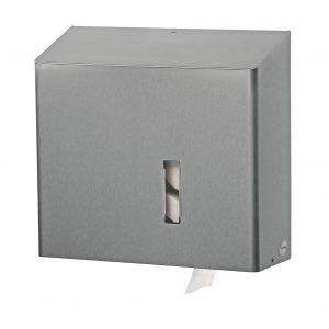 toiletrolhouder 4 rollen rvs