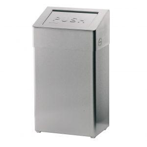 brandveilige afvalbak 18l rvs