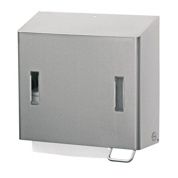 combinatie dispenser rechts rvs