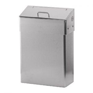 dames hygiene afvalbak 10l rvs