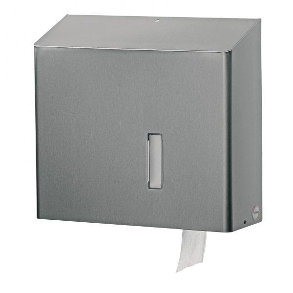 jumbo toiletrolhouder rvs