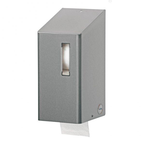 toiletrolhouder 2 rollen rvs