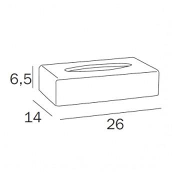 tissue box chroom tekening