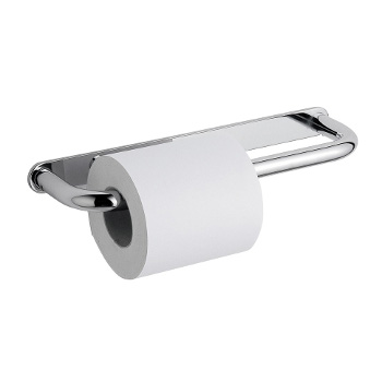 dubbele toiletrolhouder chroom