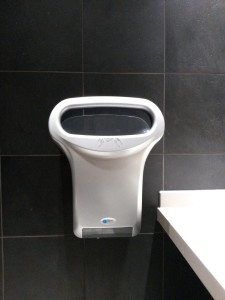 Handdroger in McDonald's Osdorp
